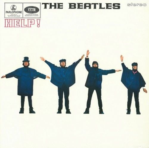 THE BEATLES Help Vinyl Record LP Parlophone 2017